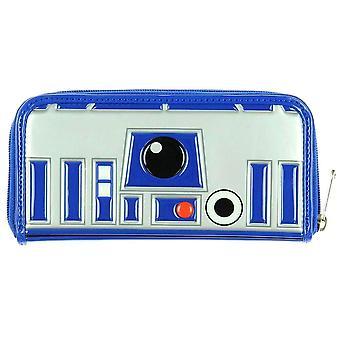 Loungefly x Star Wars R2-D2 Zip-Around Clutch Purse