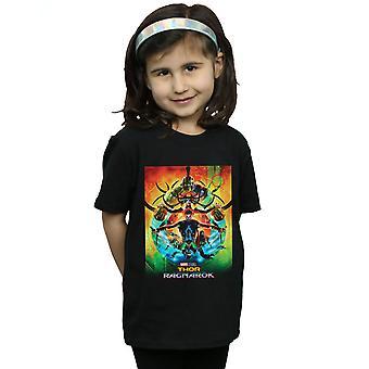 Marvel Studios Girls Thor Ragnarok Poster T-Shirt
