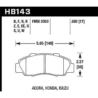 Hawk performance HB143Z. 680 PC