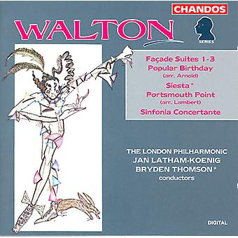 W. Walton - Walton: VA-Ade Suites Nos. 1-3; Populaire verjaardag; Siesta; Sinfonia Concertante; Portsmourth punt [CD] USA import
