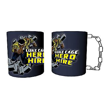 Tazza - Marvel - Luke Cage Chain Coffee Cup Nuovo mcmg-mc-lchain
