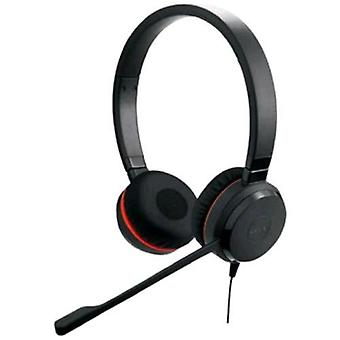 Jabra evolves 20 stereo headset with microphone