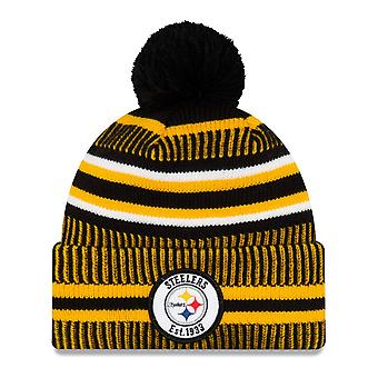 New Era Sideline Bommel Kinder Mütze Pittsburgh Steelers