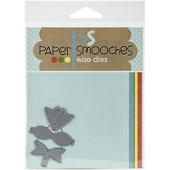 Paper Smooches Die-Baby Bow - FBD194