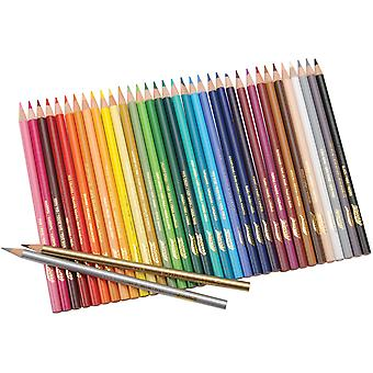 Prang Colored Pencils 36 Pkg Dt22360