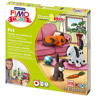 Fimo Kids Form & Play Set Pet 8034Lz 2