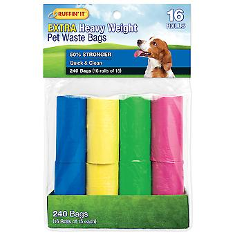 Color Waste Bag Refills 16/Pkg-4 Colors 19330