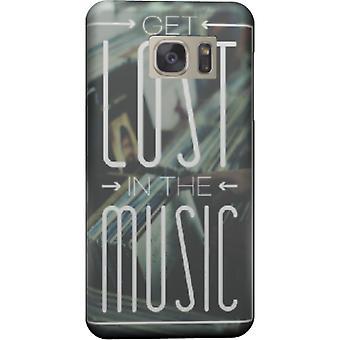 Verdwalen in de muziek-cover voor Galaxy Note 5