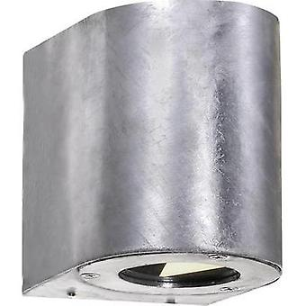 LED outdoor wall light 10 W Warm white Nordlux Canto 77571031 Galvanized