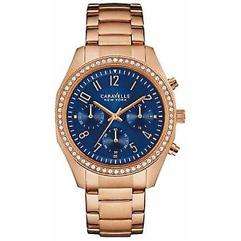 Caravelle New York Ladies Melissa Chronograph 44L196 Watch
