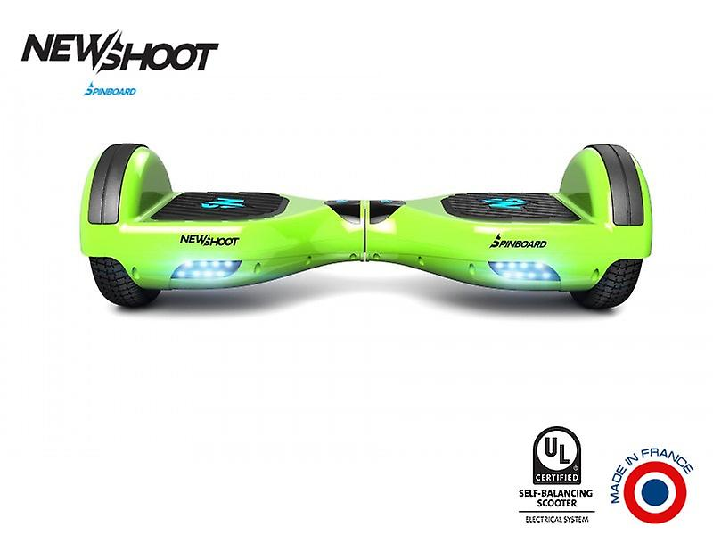 hoverboard spinboard © classic lime green