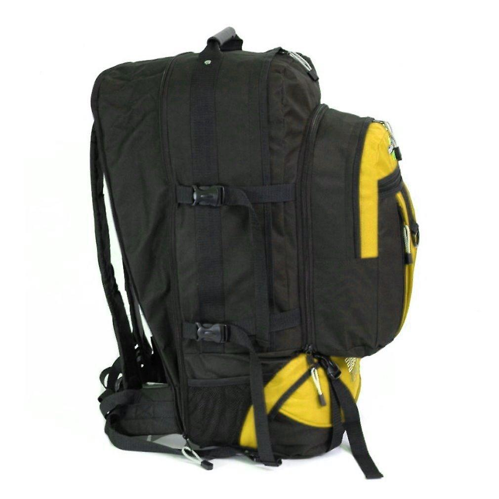 Karabar Globe Traveler 105 Litres Backpack, Mustard