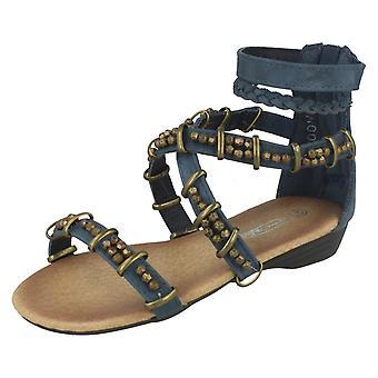 Piger Cutie Beaded krydse Over rem sandaler