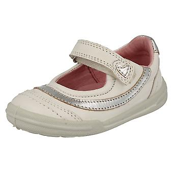 Girls Startrite Velcro Strap Casual Shoes Flexy-Soft Feather