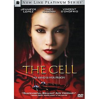 The Cell [DVD] USA import