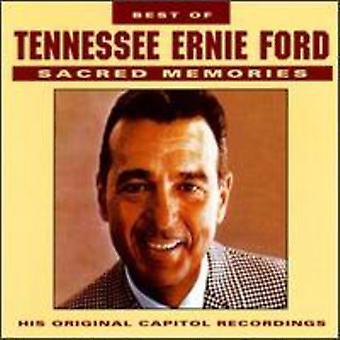 Tennessee Ernie Ford - lo mejor de importación USA memorias sagradas [CD]