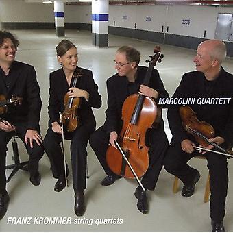 F. Krommer - Franz Krommer: String Quartets [CD] USA import