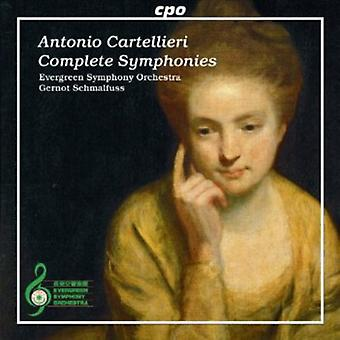 A.C. Cartellieri - Antonio Cartellieri: Symfonier [CD] USA import