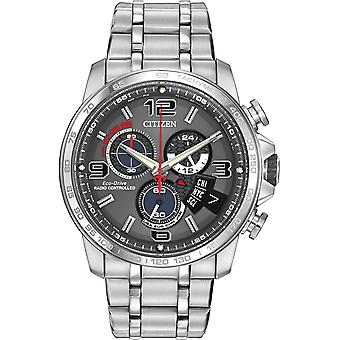 Citizen Chrono tempo in acciaio inox Mens Watch BY0100 - 51H