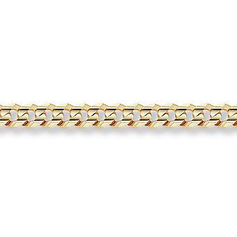 14K Gold 10mm Curb Bracelet