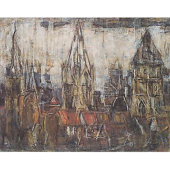 Christian Rohlfs - Trees Poster Print Giclee