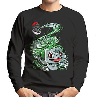 Bulbasaur Pokeball Pokemon Men's Sweatshirt