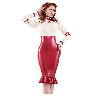 Westward Bound Countess De Femme Latex Rubber Dress.