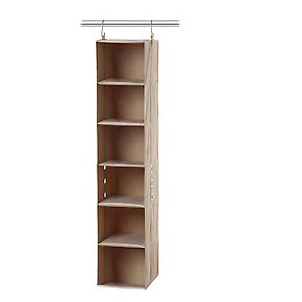 Neatfreak 6 Shelf Organizer - ClosetMax (Beige)