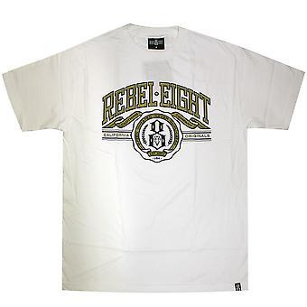 Rebel8 U Of 8 Men's T-shirt White