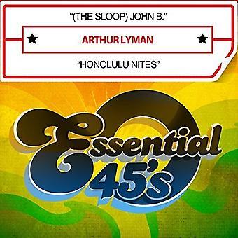 Arthur Lyman - (the Sloop) John B. / Honolulu Nites [CD] USA import