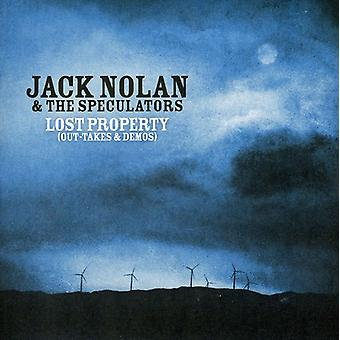 Jack Nolan & the Speculators - Lost Property-Out Takes & Demos [CD] USA import