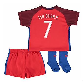 2016-17 England Away Baby Kit (Wilshere 7)