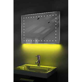 Ambient Ultra-Slim LED Mirror With Demister Pad & Sensor K170