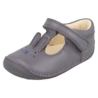 Girls Clarks First Shoes With Rabbit Design Little Glo