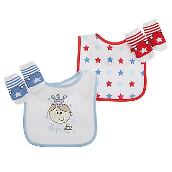 Baby Boys/Girls Little Prince/Princess 4 Piece Gift Set