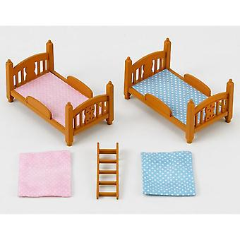 Sylvanian Families Bunk Set (Toys , Dolls And Accesories , Miniature Toys , Accessoiries)