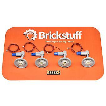 Brickstuff varm hvid lys med 12