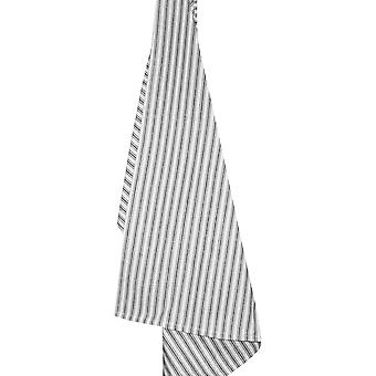 Cream Ticking Stripe Dishtowel 20