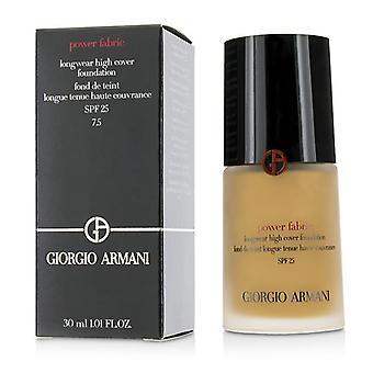 Giorgio Armani Power Fabric Longwear High Cover Foundation SPF 25 - # 7.5 (Tan Golden) - 30ml/1oz