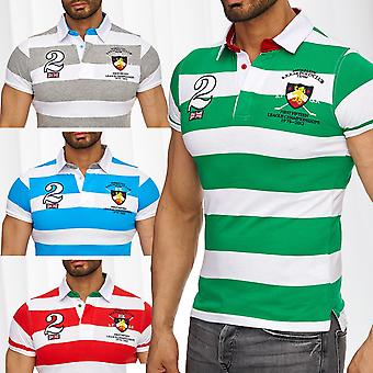 Polo T-Shirt men's England shirt leisure top quality summer Club stand up collar