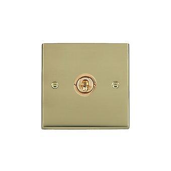 Hamilton Litestat Cheriton Victorian Polished Brass 1g 20AX 2Way Toggle PB