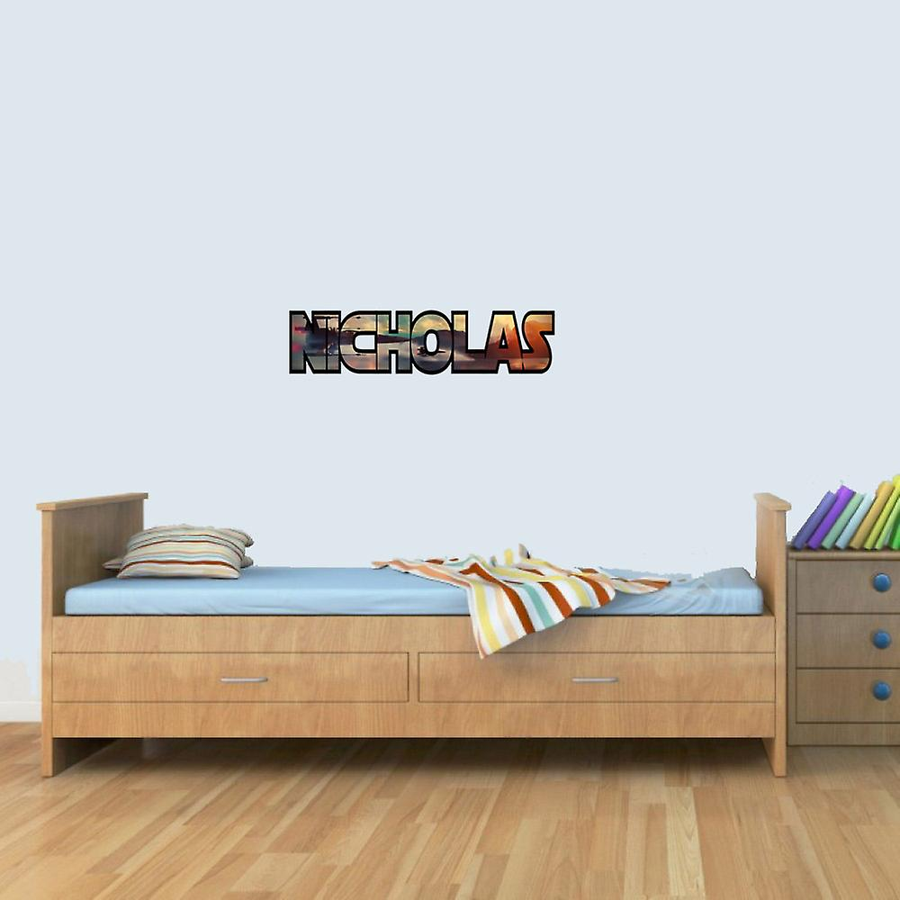 Customisable Star Wars X Wing Childrens Name Wall Art Stickers Decal Vinyl for Boys/Girls Bedroom