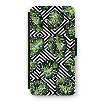 أي فون 7 بالإضافة إلى انعكاس حالة-الغابة هندسية