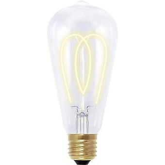 LED E27 Bulged 4 W = 15 W Gold (Ø x L) 60 mm x 135 mm EEC: B Segula dimmable, Filament 1 pc(s)
