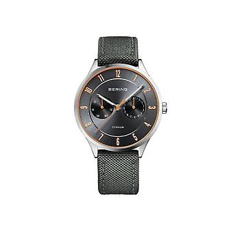 Bering mens watch titanium collection 11539-879