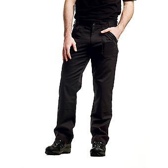 Regatta miesten Cullman vettä hylkivä housut TRJ339 musta