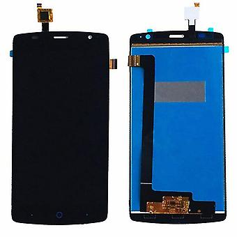 Display full LCD unit touch spare parts for ZTE blade L5 plus repair black new