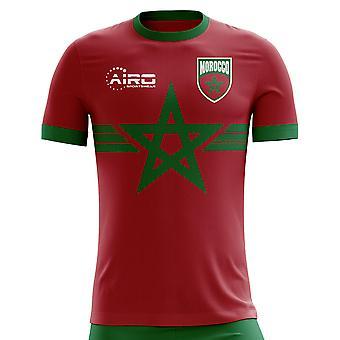 2018-2019 Marokko derde Concept voetbalshirt