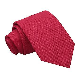 Scarlet røde Panama Cashmere ull klassisk slipset