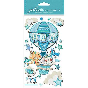 Jolee's Boutique Dimensional Stickers-Baby Boy - Special Delivery